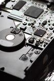 Disco duro de la placa de circuito Foto de archivo libre de regalías