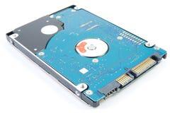 Disco duro del ordenador portátil aislado imágenes de archivo libres de regalías