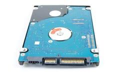 Disco duro del ordenador portátil aislado imagen de archivo libre de regalías