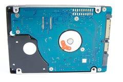 Disco duro del ordenador portátil aislado foto de archivo libre de regalías