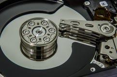 Disco duro dentro Imágenes de archivo libres de regalías