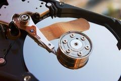 Disco duro seguro Imagenes de archivo