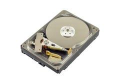 Disco duro transparente Fotos de archivo