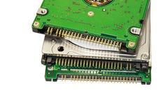 disco duros do caderno Fotografia de Stock
