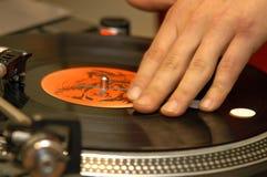 Disco e DJ imagem de stock