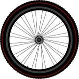 Disco e engrenagem do pneumático de roda da bicicleta Fotos de Stock