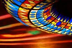 Disco e laser das cores Fotos de Stock Royalty Free