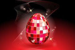 Disco egg Stock Images