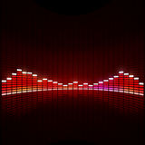 Disco Equalizer Stock Images