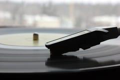 Disco estereofônico do equipamento de som da música do registro de gramofone Fotografia de Stock Royalty Free