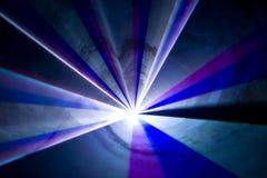 Disco et exposition de laser Photos stock