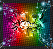 Disco Event Background Royalty Free Stock Image