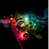 Disco Event Background Stock Photography