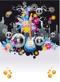 Disco Event Flyer Royalty Free Stock Photos