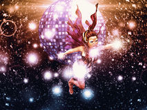 Disco fairy Royalty Free Stock Photos