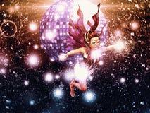 Disco Fairy Royalty Free Stock Photos