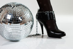 Disco fetters stock photography