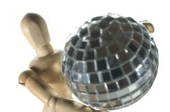 Disco figurine Royalty Free Stock Photography
