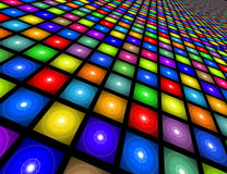 Disco Floor Illustration Stock Photography