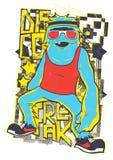 Disco Freak Royalty Free Stock Image