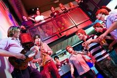 Disco gig Stock Photo