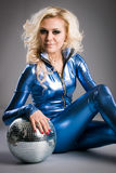 Disco girl Royalty Free Stock Photo