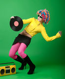 Disco girl Royalty Free Stock Photos