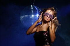 Disco girl Stock Photography
