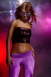 Disco girl Stock Images