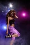 Disco girl Royalty Free Stock Photos