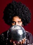 disco girl Στοκ Φωτογραφία