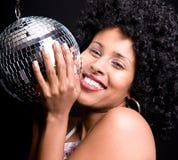 disco girl Στοκ Φωτογραφίες