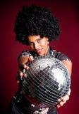 Disco girl Royalty Free Stock Image