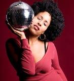 Disco girl Stock Photos