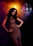 Disco girl royalty free stock photography