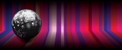 Disco globe Royalty Free Stock Photography