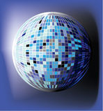 Disco globe illustration Stock Photography