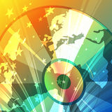 Disco globe Stock Images