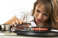 Disco grammofonico Immagine Stock