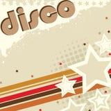 Disco Grunge Design Stock Photo
