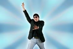 Disco guy Royalty Free Stock Image