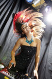 Disco hair Stock Images