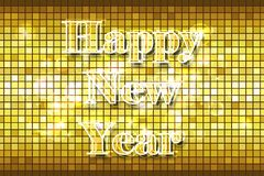 Disco Happy New Year Royalty Free Stock Photos
