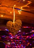 Disco with heart Stock Photo