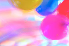 Disco Highlights and Air Baloons Stock Photography