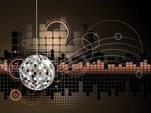 Disco-Hintergrund Lizenzfreies Stockfoto