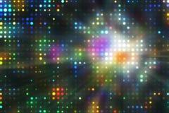 Disco horizontal background Royalty Free Stock Images