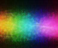Disco horizontal background vector illustration