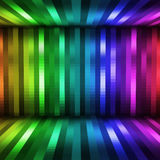 Disco horizontal background Stock Photo