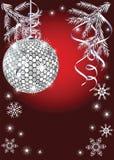 Disco im neuen Jahr stock abbildung